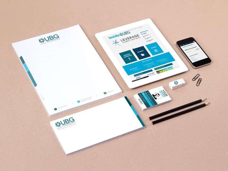 UBG Website and Brand Identity