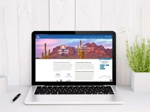 Flagship Website for Amerifirst Financial