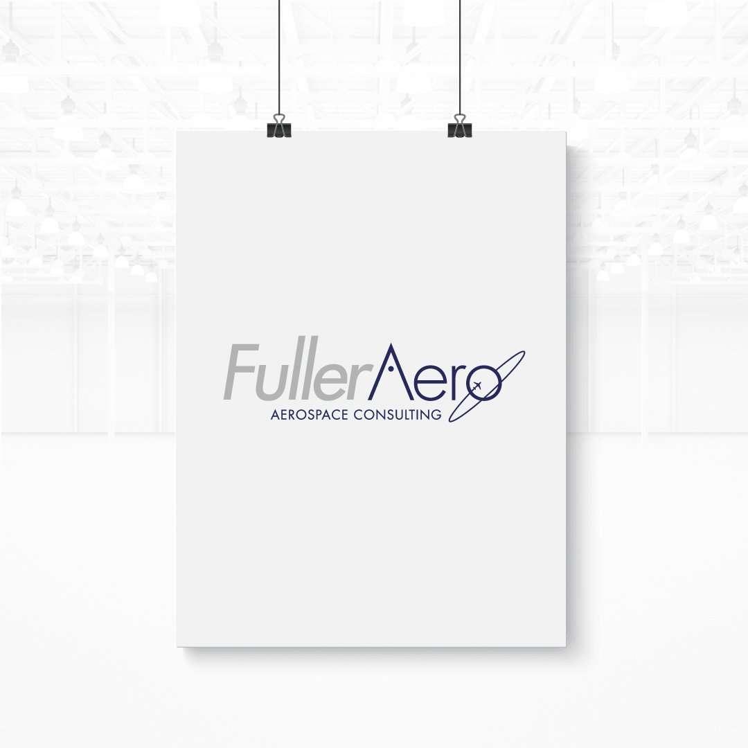 concept 2 for fuller aero logo design