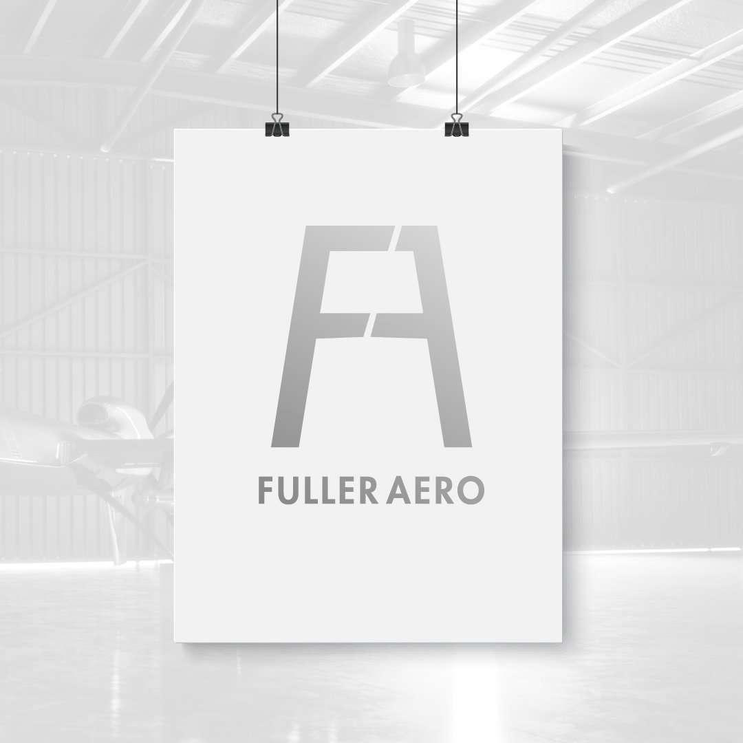 Fuller Aero Logo Design